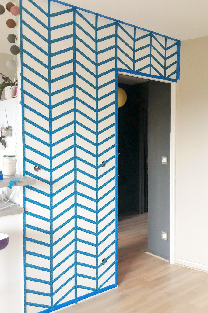 Exceptionnel DIY : un mur graphique - Home by Marie ZW57