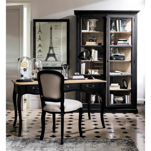 une vitrine relook e dans un style cabinet de curiosit s home by marie. Black Bedroom Furniture Sets. Home Design Ideas