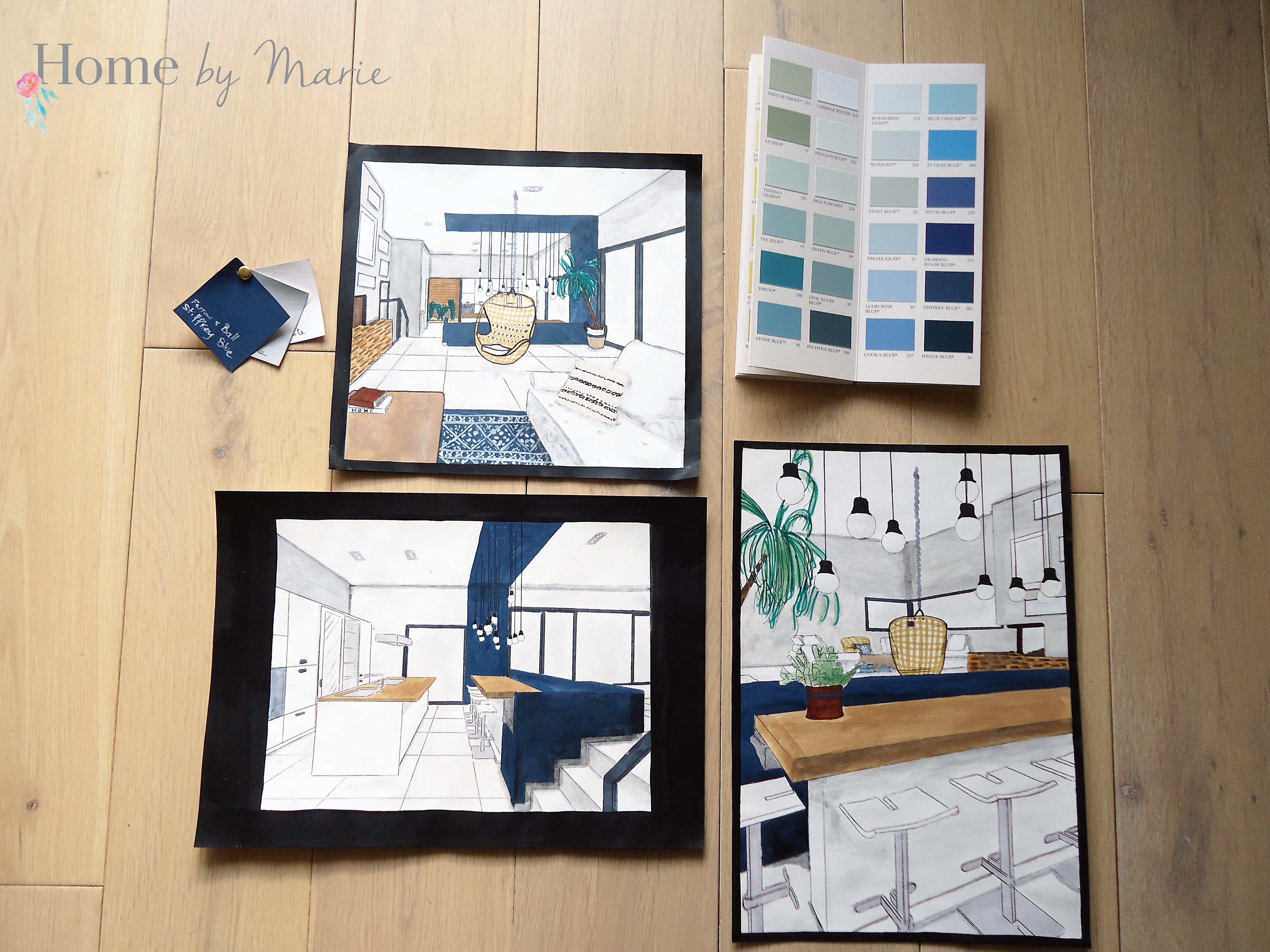 Coaching déco : Une maison au style bord de mer - Home by Marie