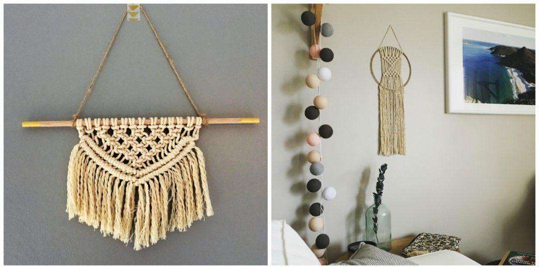 diy des macram s pour vos murs home by marie. Black Bedroom Furniture Sets. Home Design Ideas