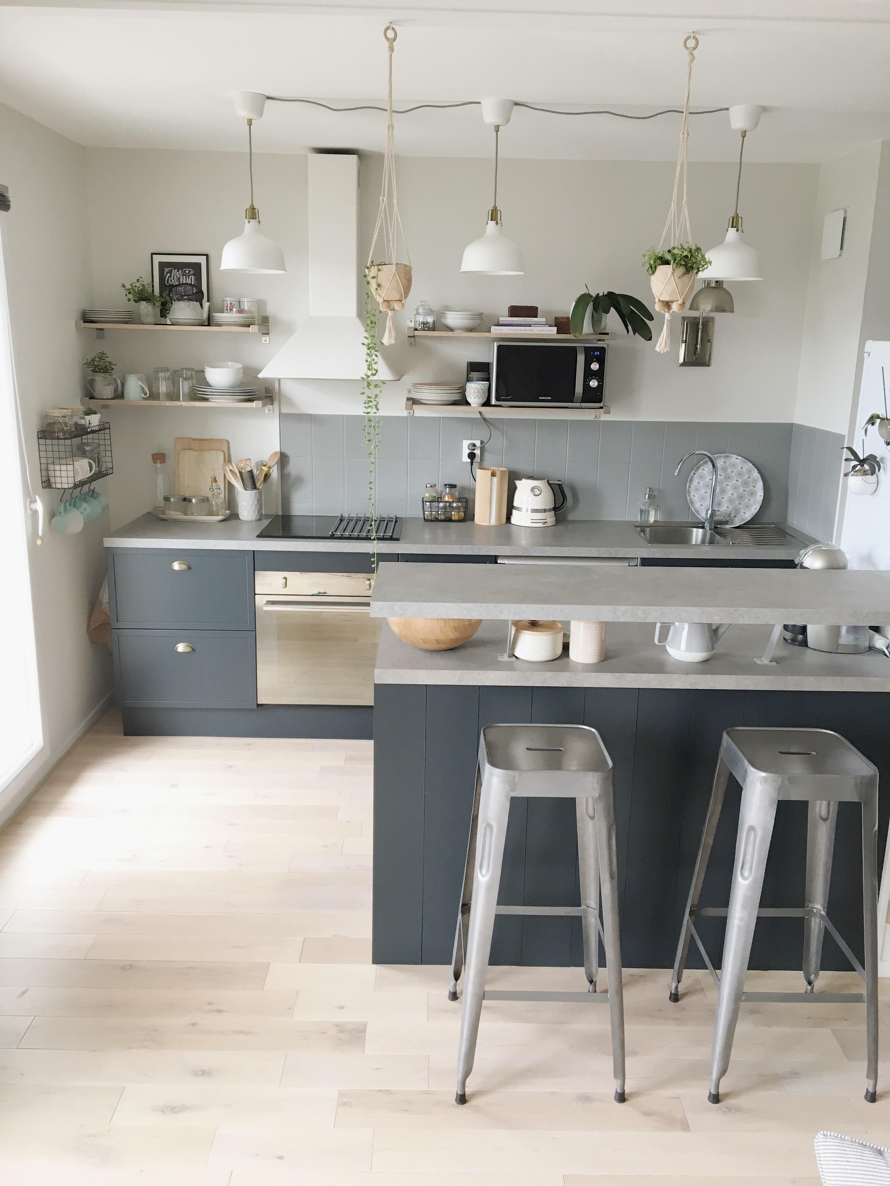 Avant/après : ma cuisine au style anglais moderne - Home by Marie