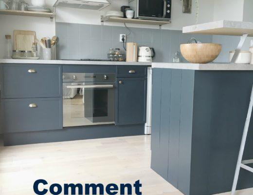 Comment nettoyer une cuisine laque cuisine laque grise for Repeindre meuble cuisine laque