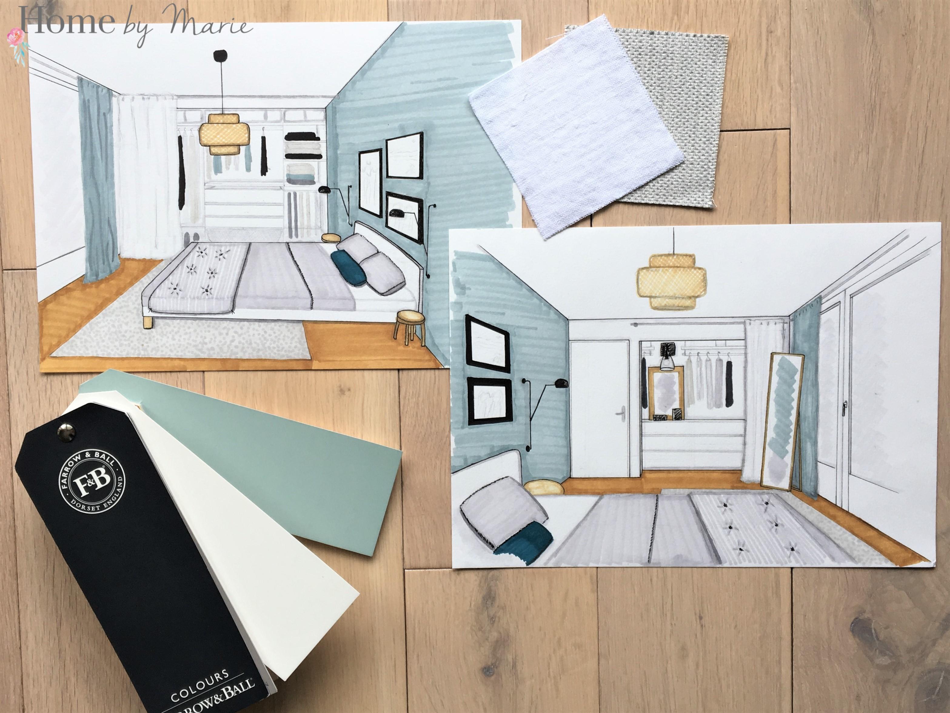 Une chambre parentale cosy et scandinave Home by Marie