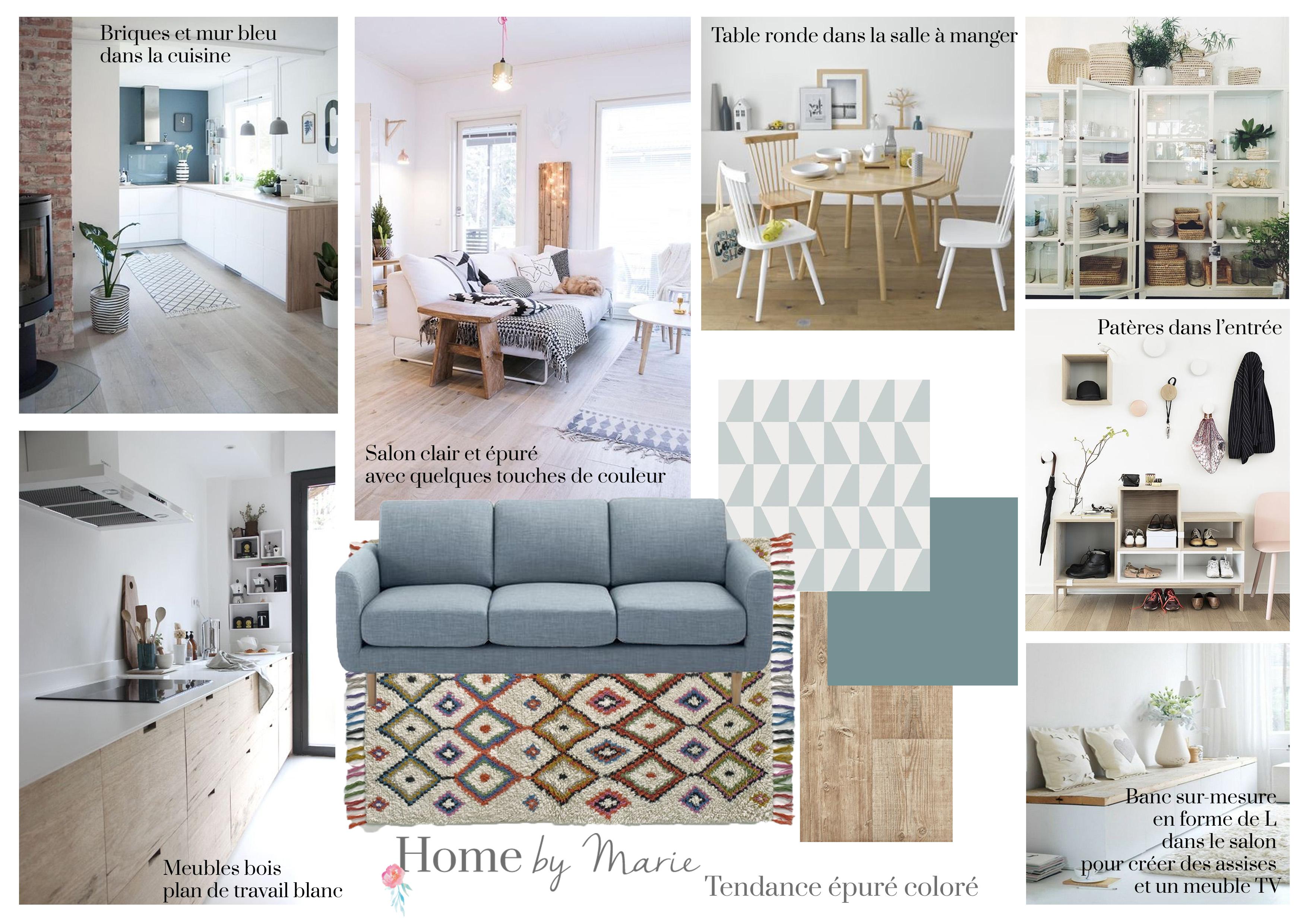 une maison au style pur et color toulouse home by marie. Black Bedroom Furniture Sets. Home Design Ideas