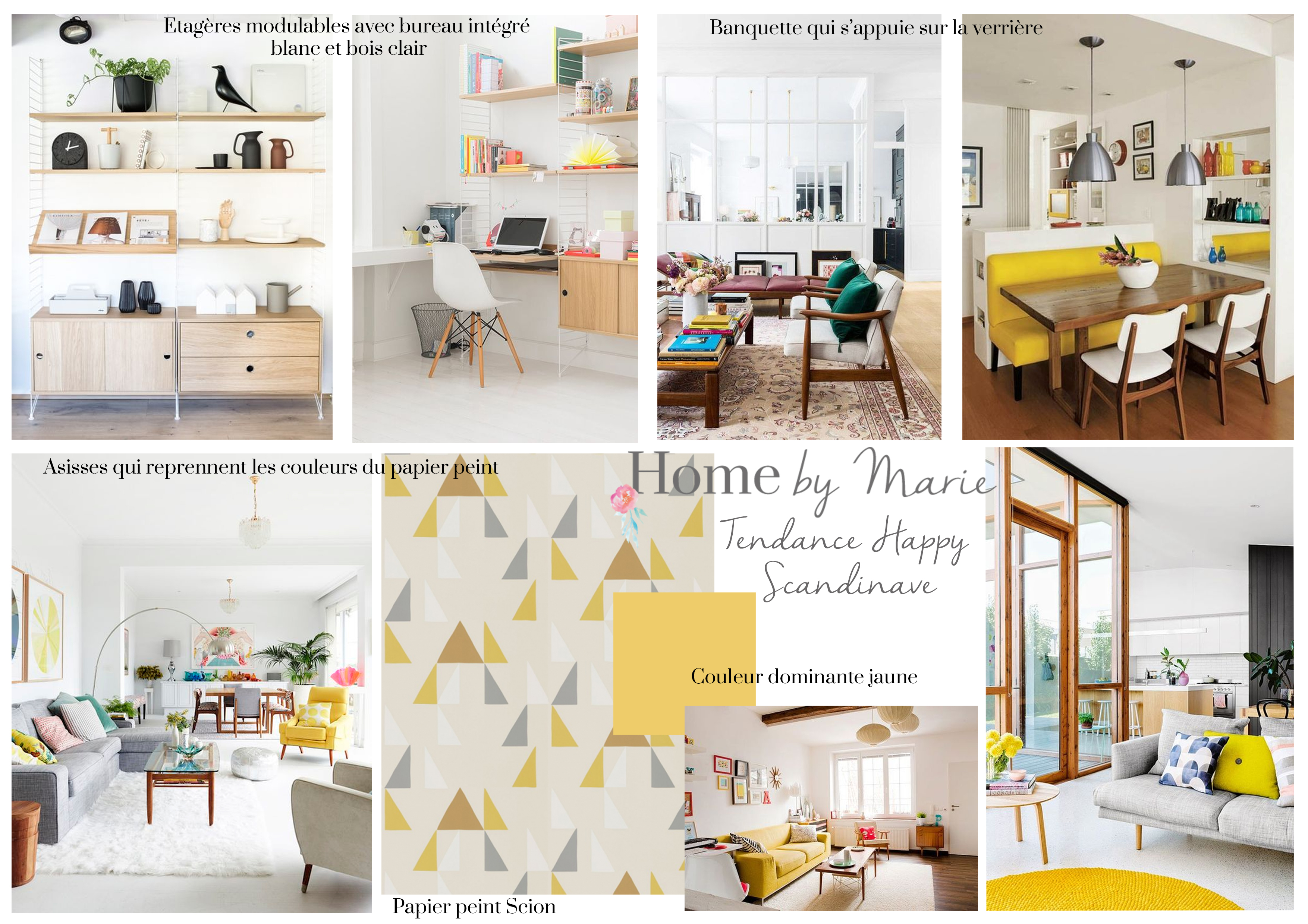 style happy scandinave pour une maison nantaise home by marie. Black Bedroom Furniture Sets. Home Design Ideas