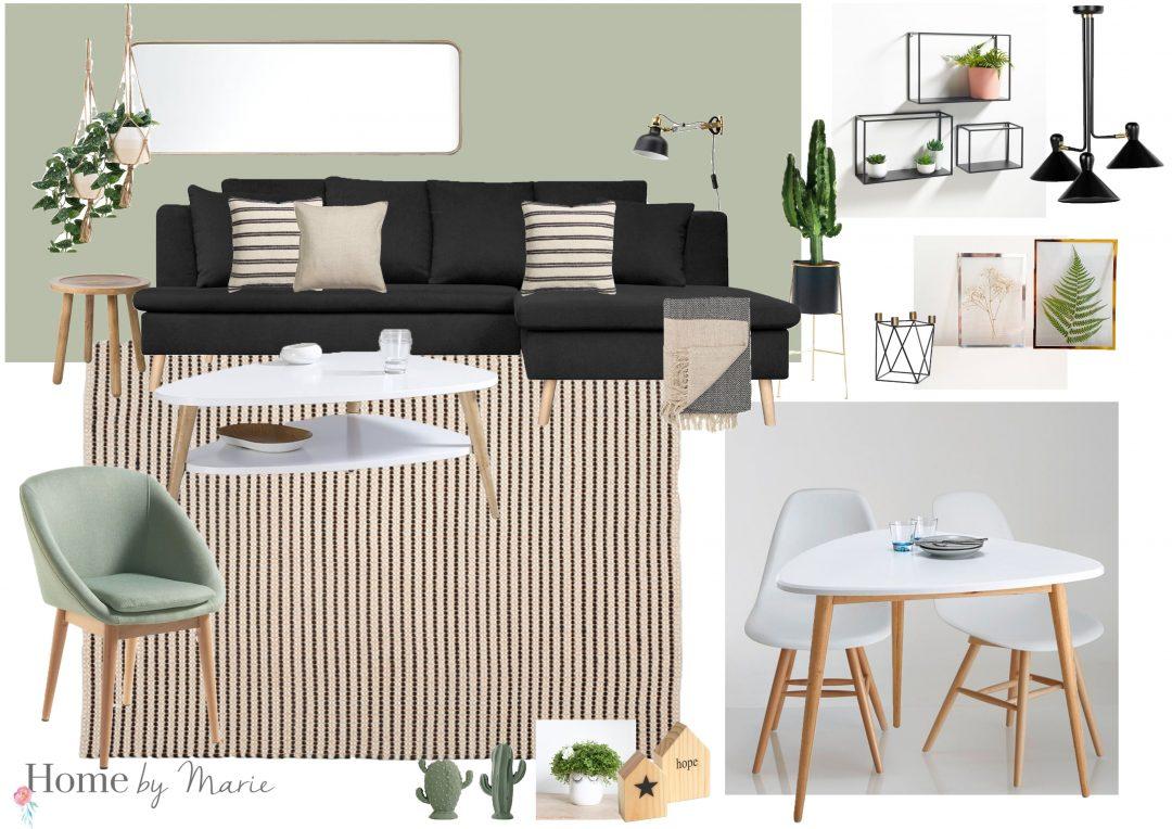 Shopping déco : aménager un petit salon - Home by Marie
