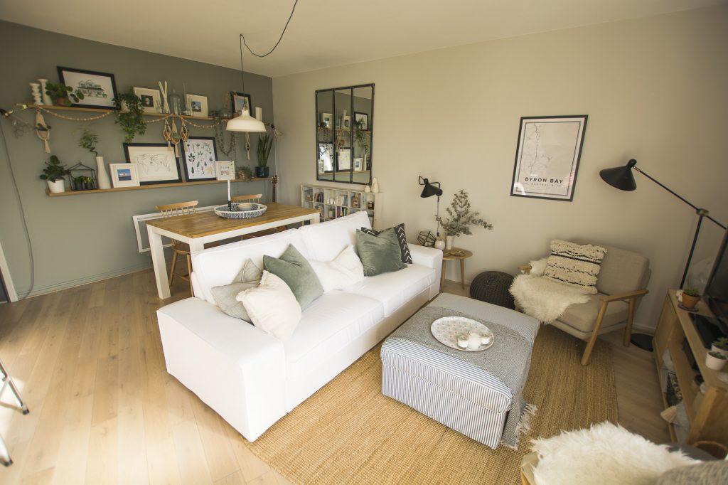 visite guid e de mon appartement sur home by marie. Black Bedroom Furniture Sets. Home Design Ideas