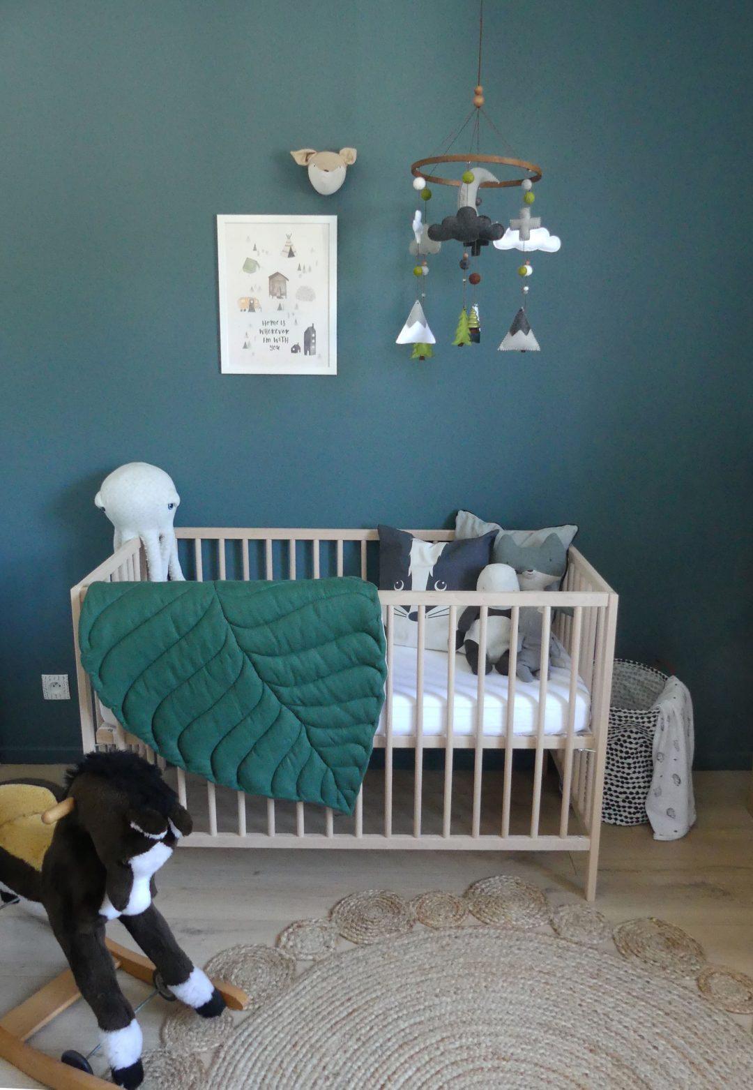Quelle Couleur Chambre Bébé Garçon la chambre de bébé d'elliott - homemarie