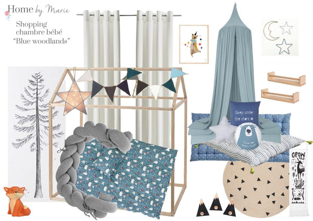 Fanion Chambre Bébé Garcon une chambre d'enfant esprit montessori - homemarie