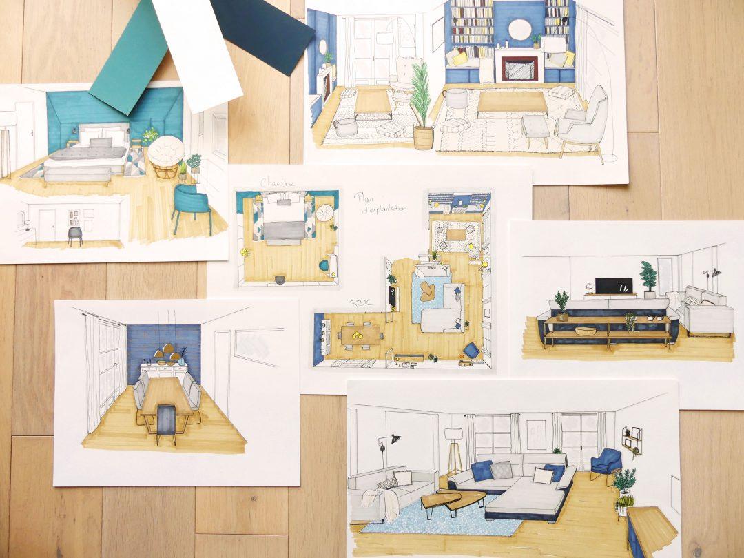 Comment Aménager Une Entrée De Maison En Pente une maison de famille moderne - homemarie